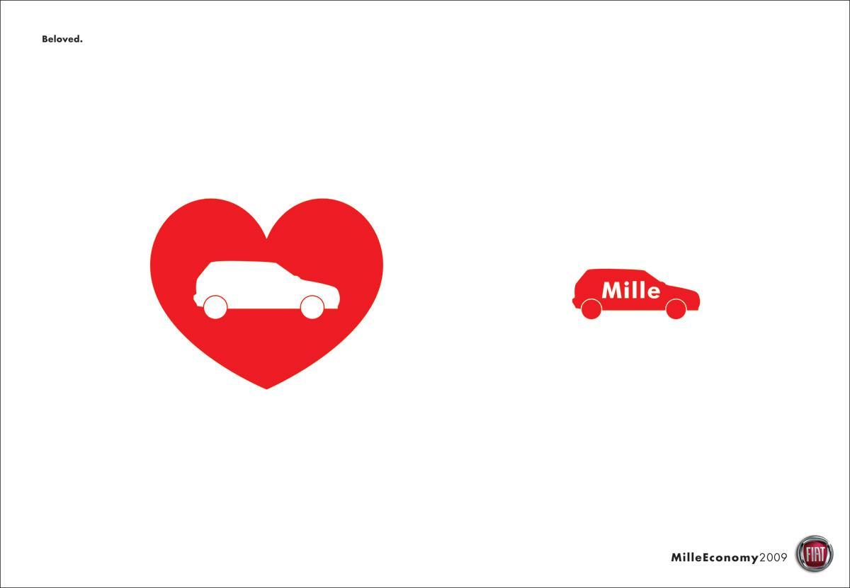 Fiat Print Ad -  Love