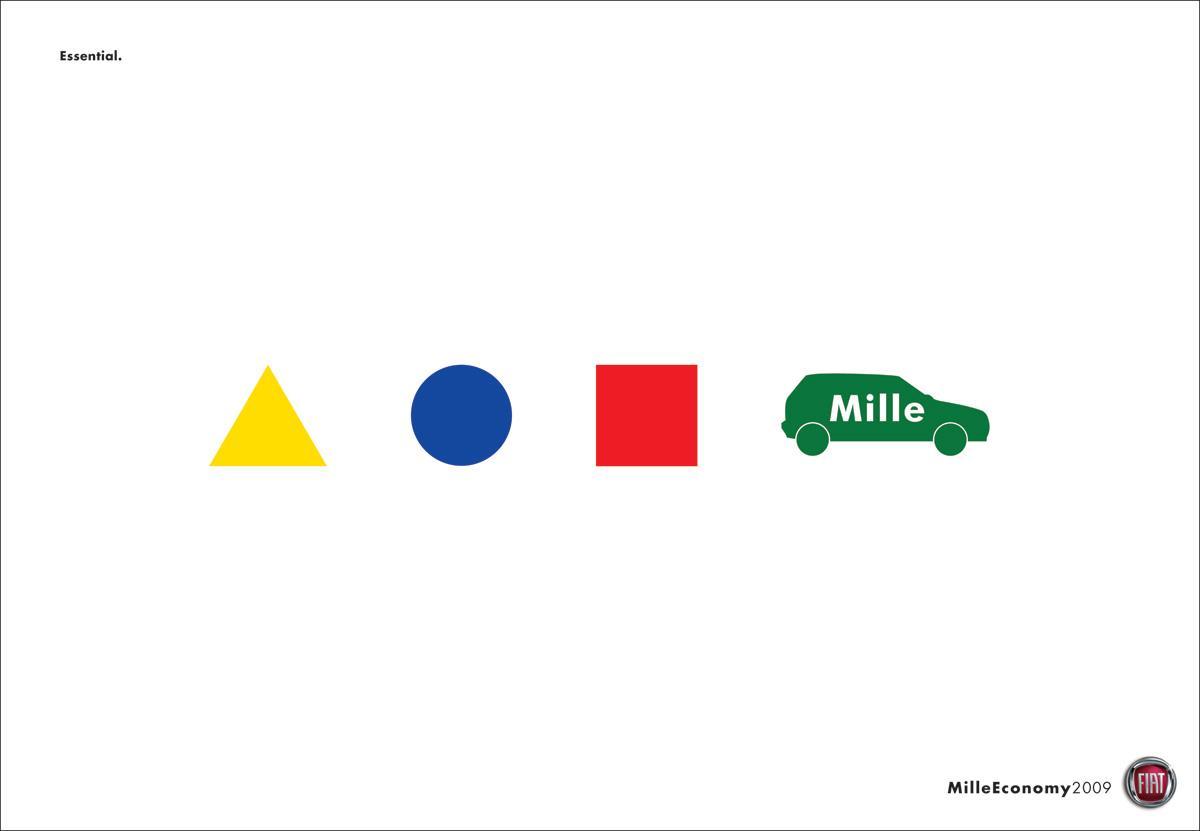 Fiat Print Ad -  Essential