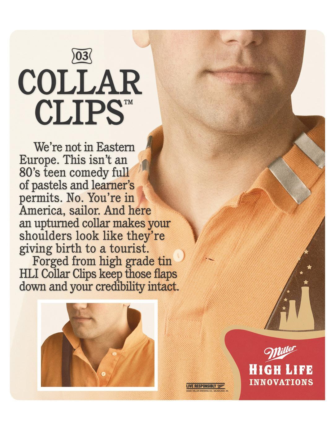 Miller Print Ad -  Collar