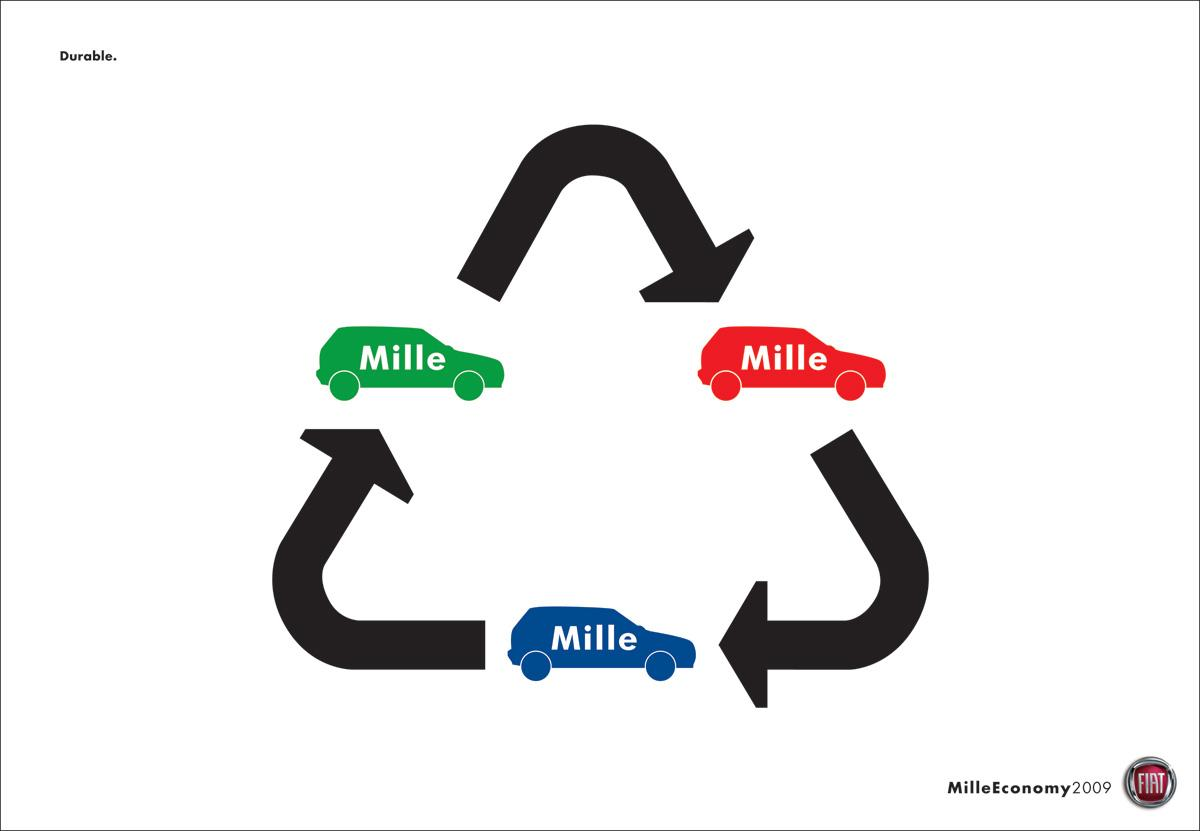 Fiat Print Ad -  Recycle