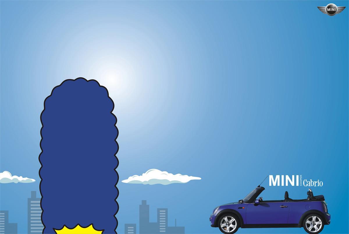 Mini Print Ad -  Marge