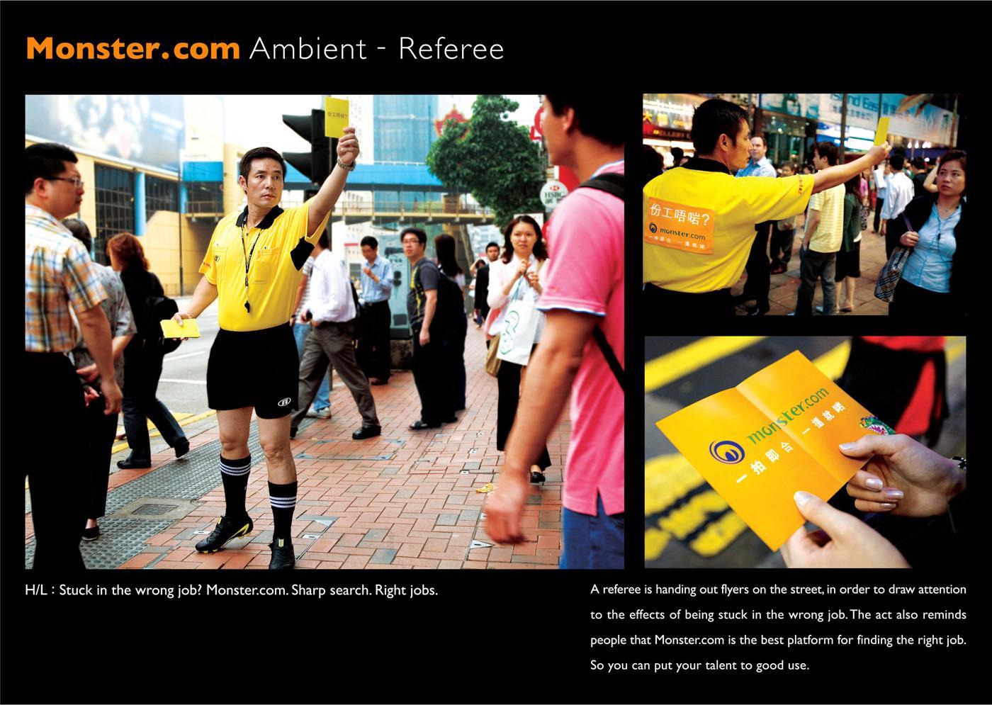 Wrong job, Referee