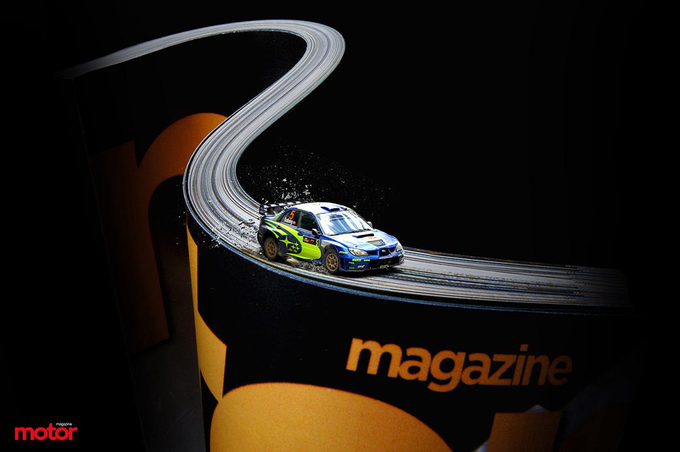Motor Magazine Print Ad -  Speed track, 1
