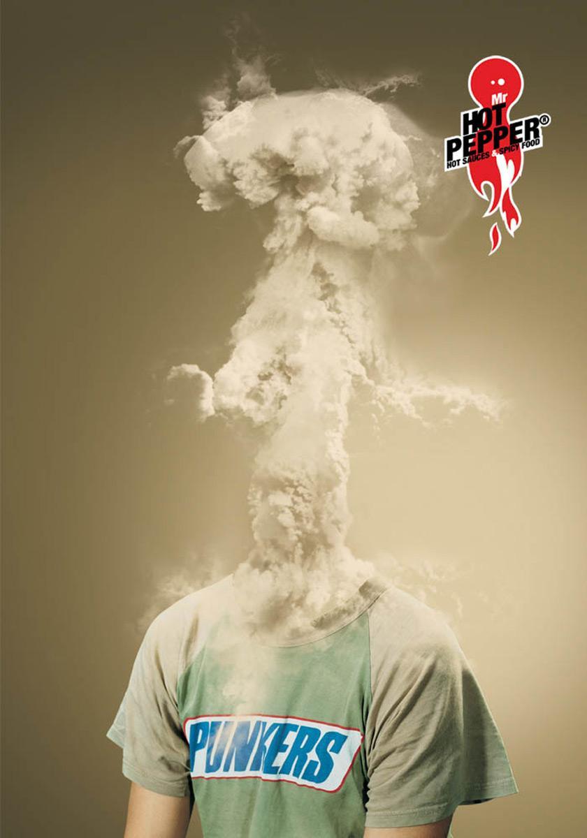 Mr Hot Pepper Print Ad -  Explosion, 4
