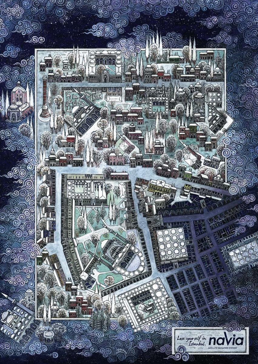 NAVIA Print Ad -  Istanbul