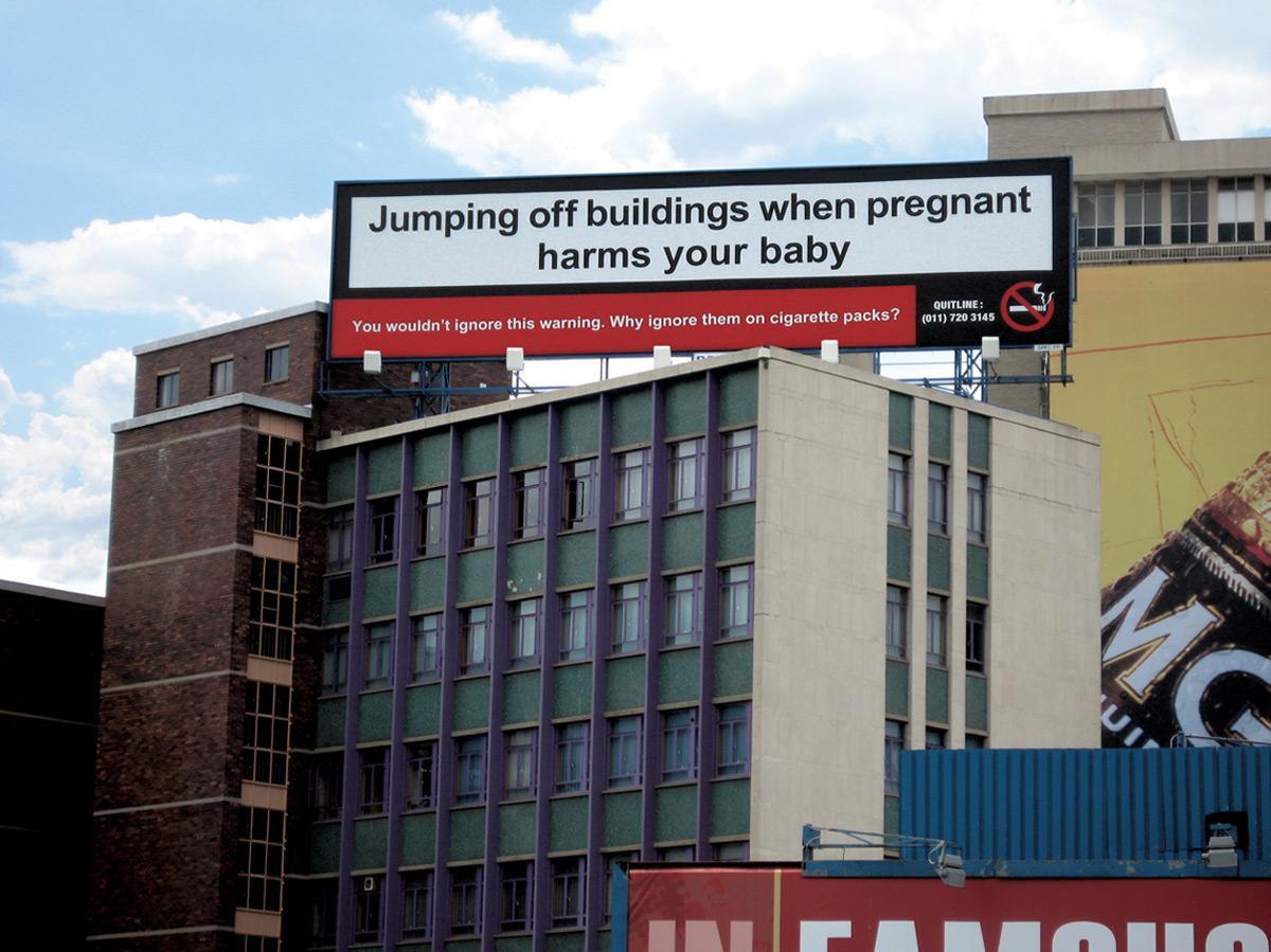 Building billboard