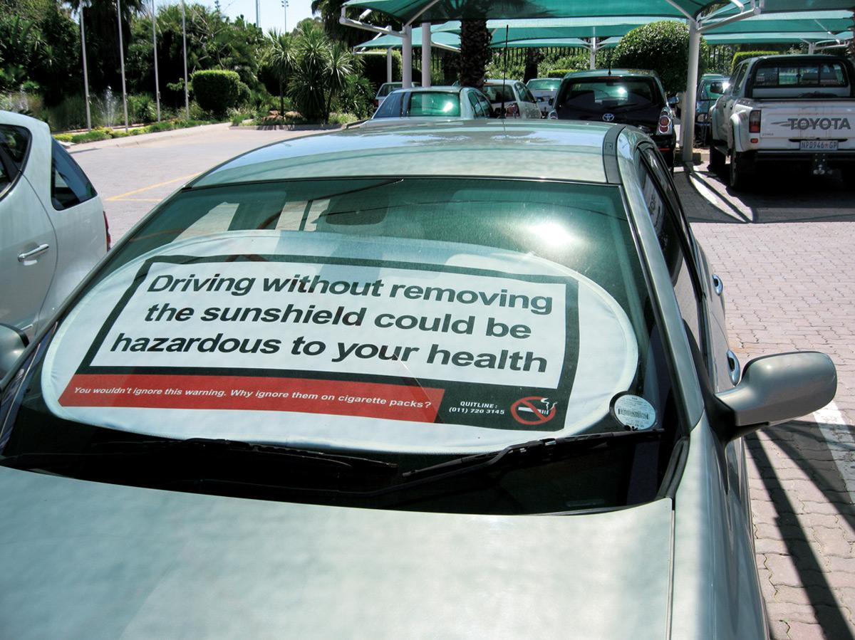 Car sunshield