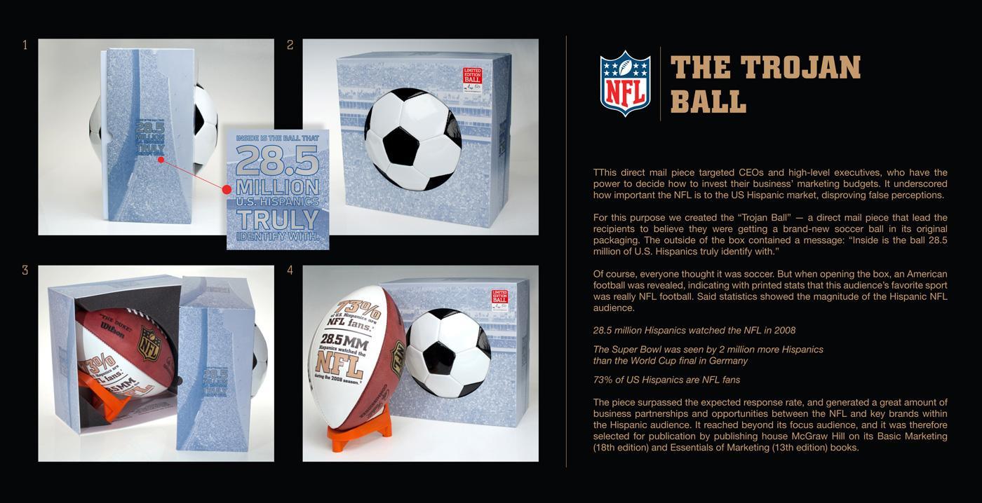 NFL Direct Ad -  The Trojan Ball