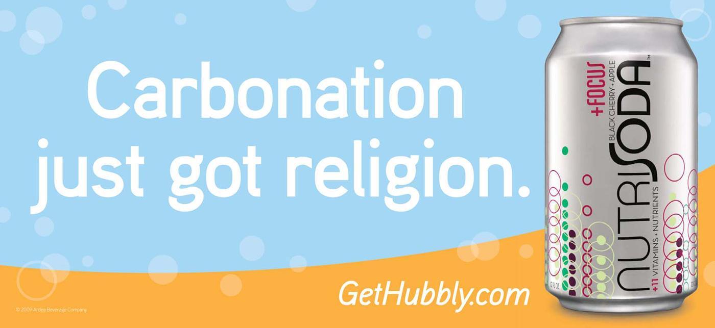 Nutrisoda Outdoor Ad -  Religion
