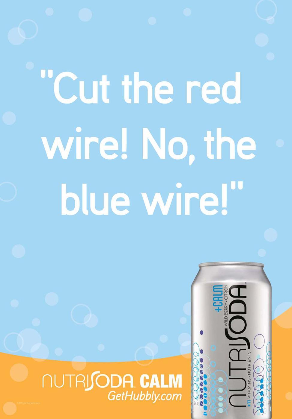Nutrisoda Digital Ad -  Cut wire
