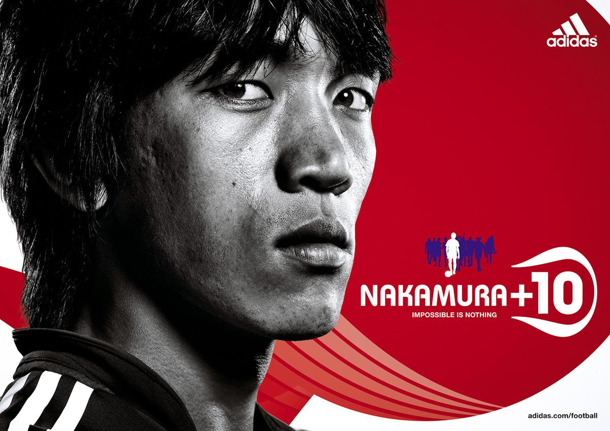 Impossible is nothing, Nakamura