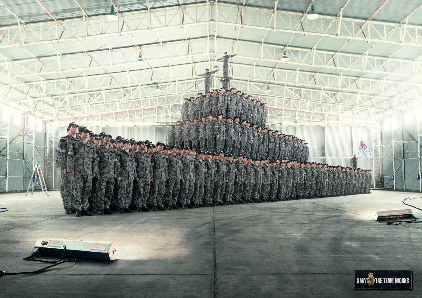 Royal Australian Navy Print Ad -  Frigate