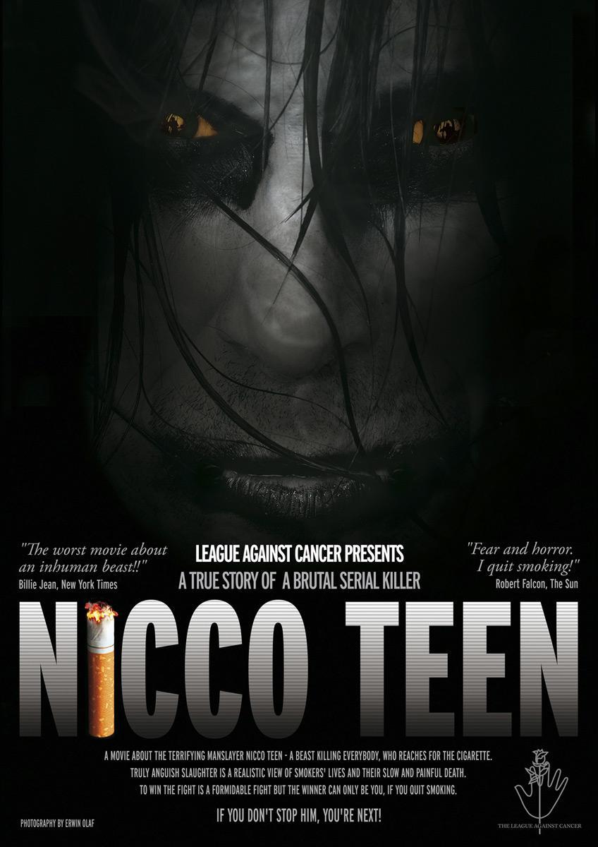League against cancer Print Ad -  Nicco Teen