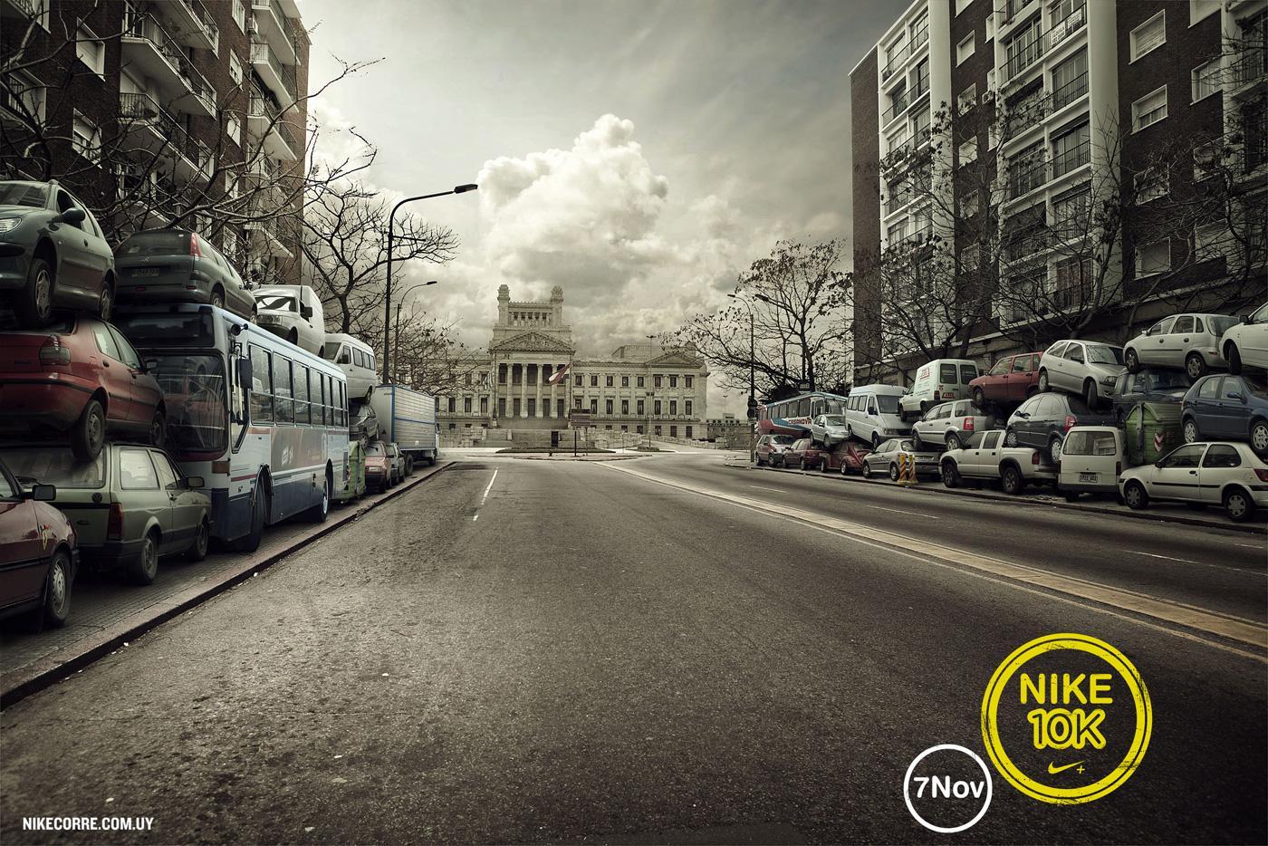 Nike Print Ad -  Street, 1