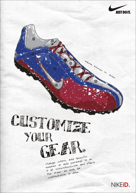 Nike Shoe Ad Student