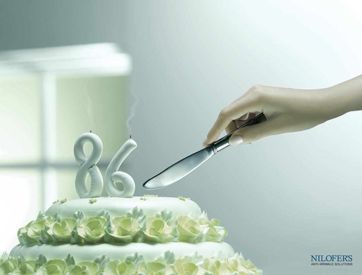 Nilofer's Print Ad -  Cake