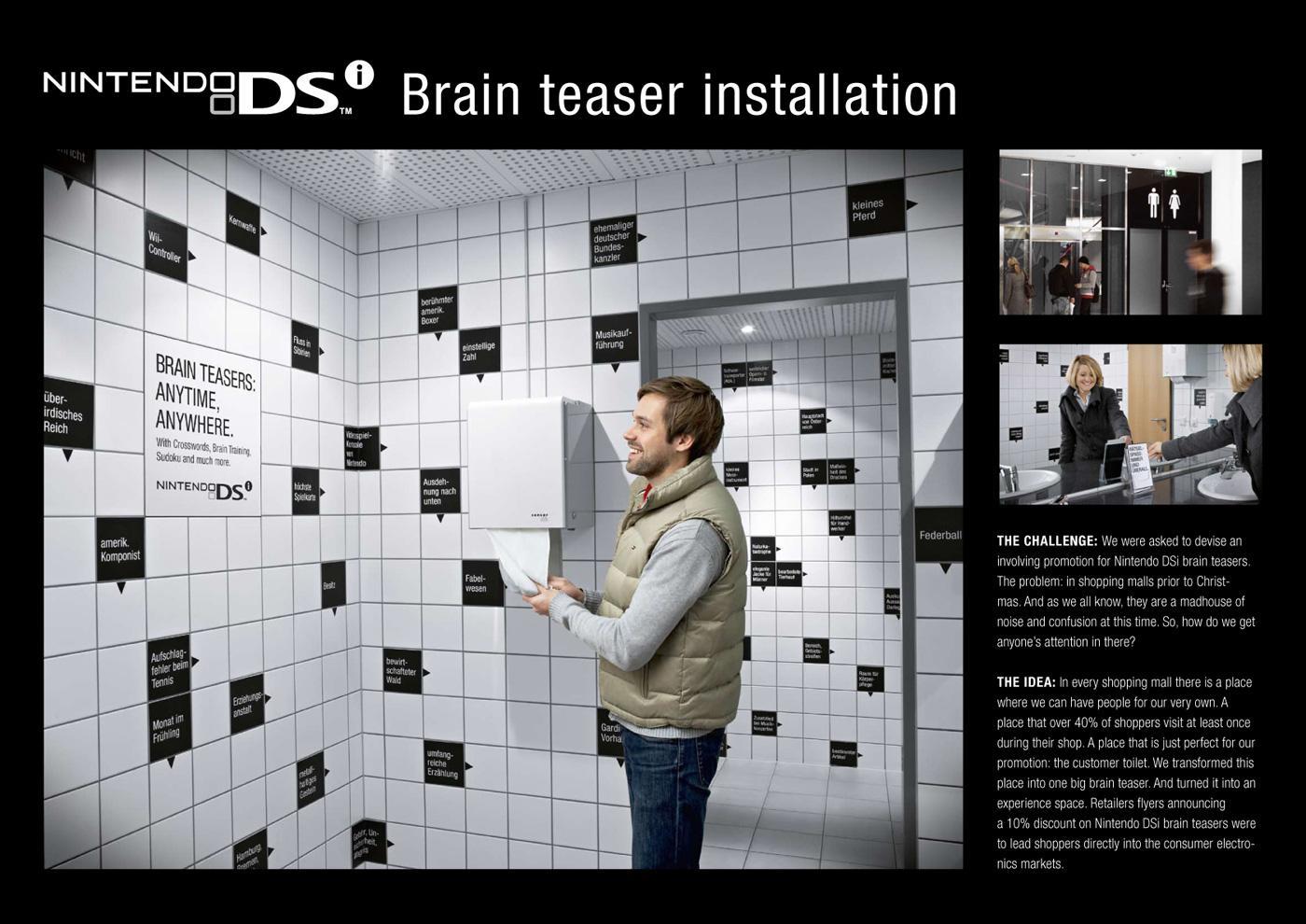 Nintendo Ambient Ad -  Brain Teaser