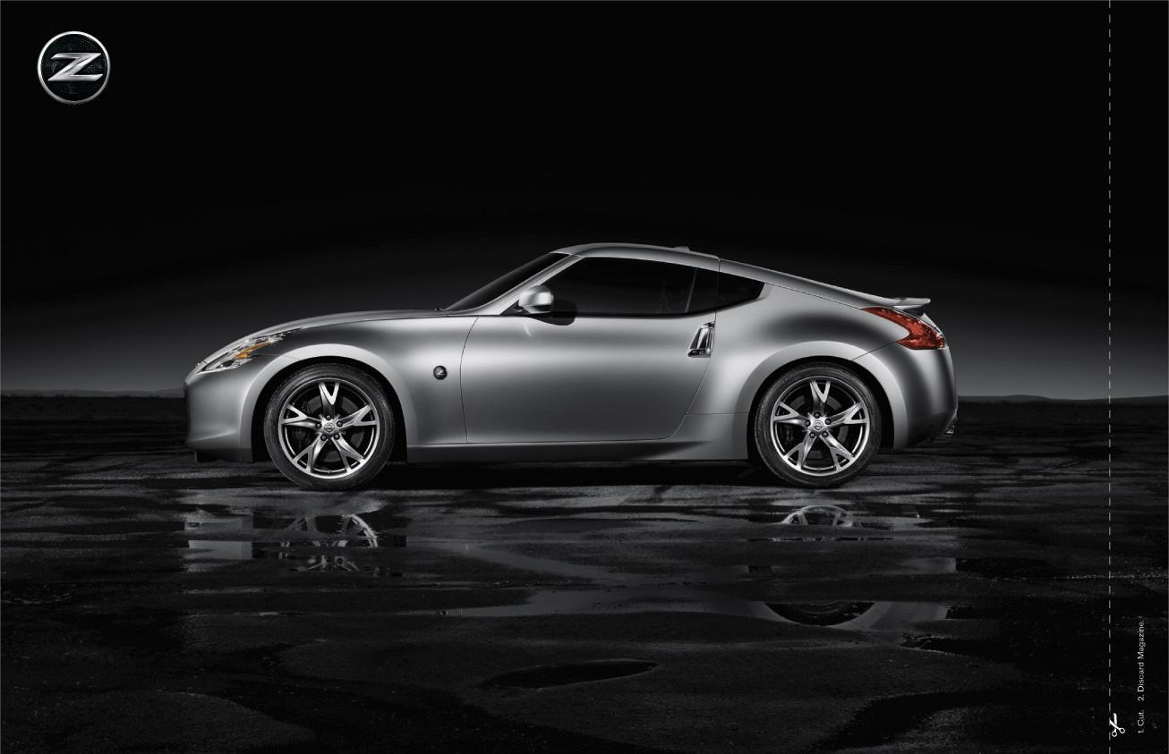 Nissan Print Ad -  Silver