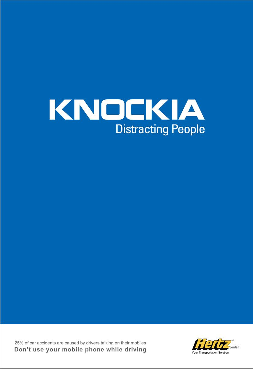 Hertz Print Ad -  Nokia