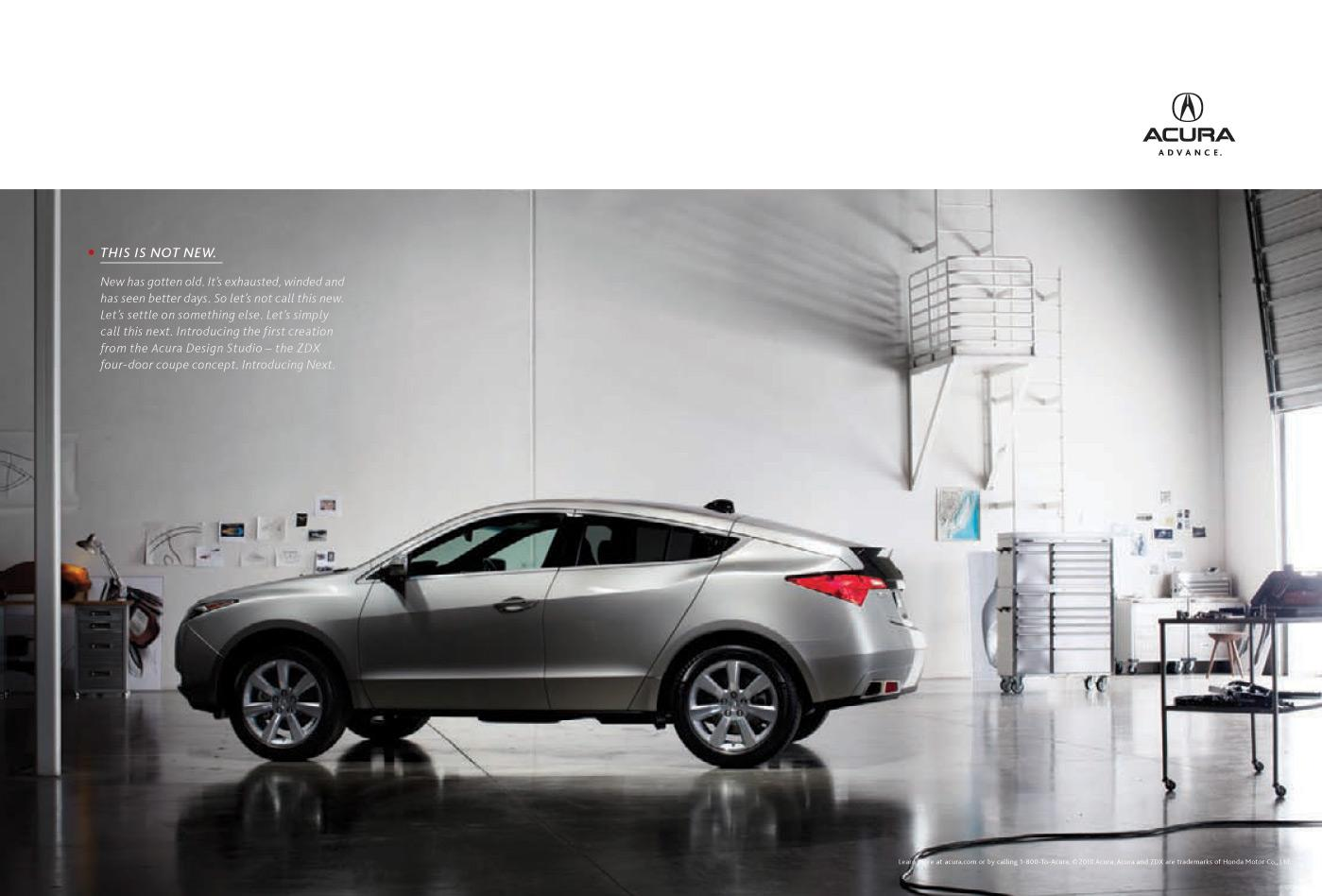 Honda Print Ad -  This is Not New