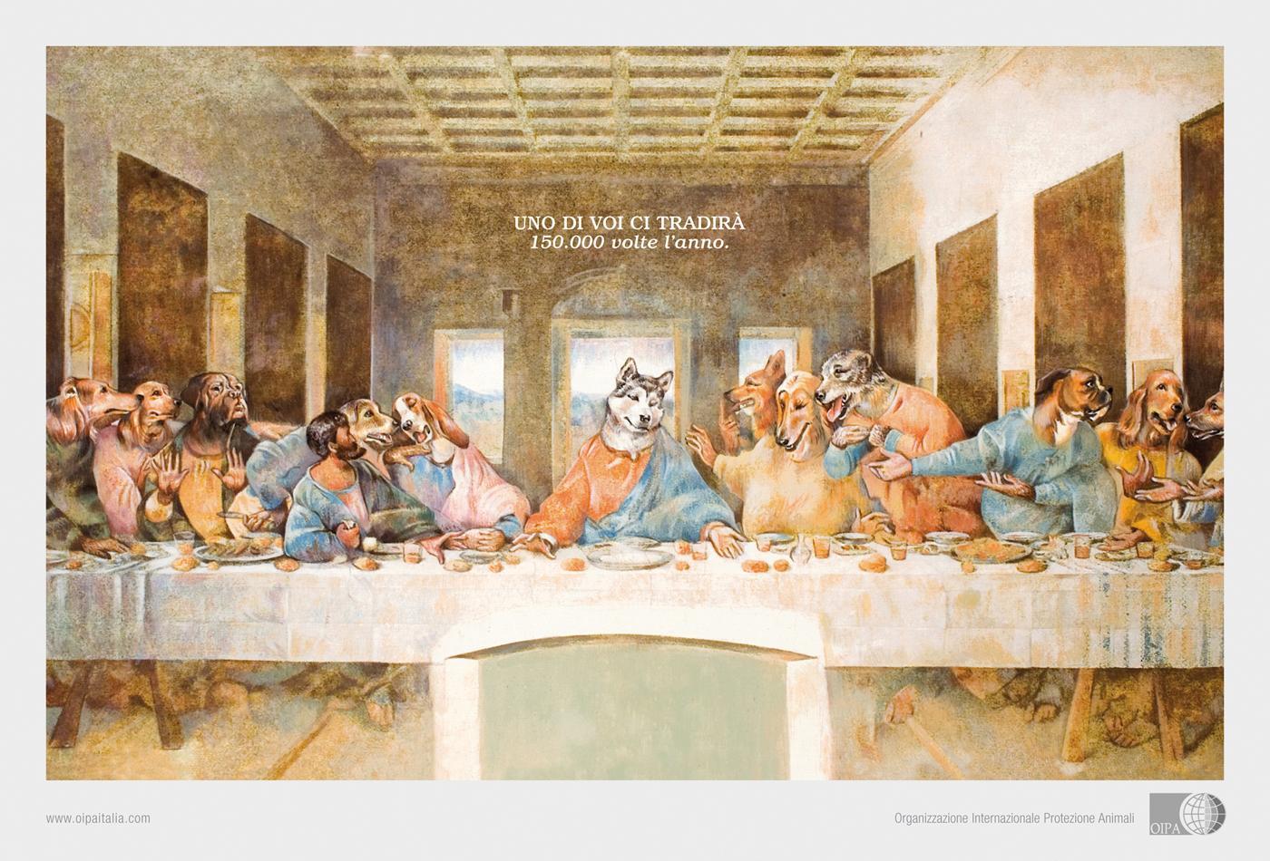 OIPA Print Ad -  The last supper