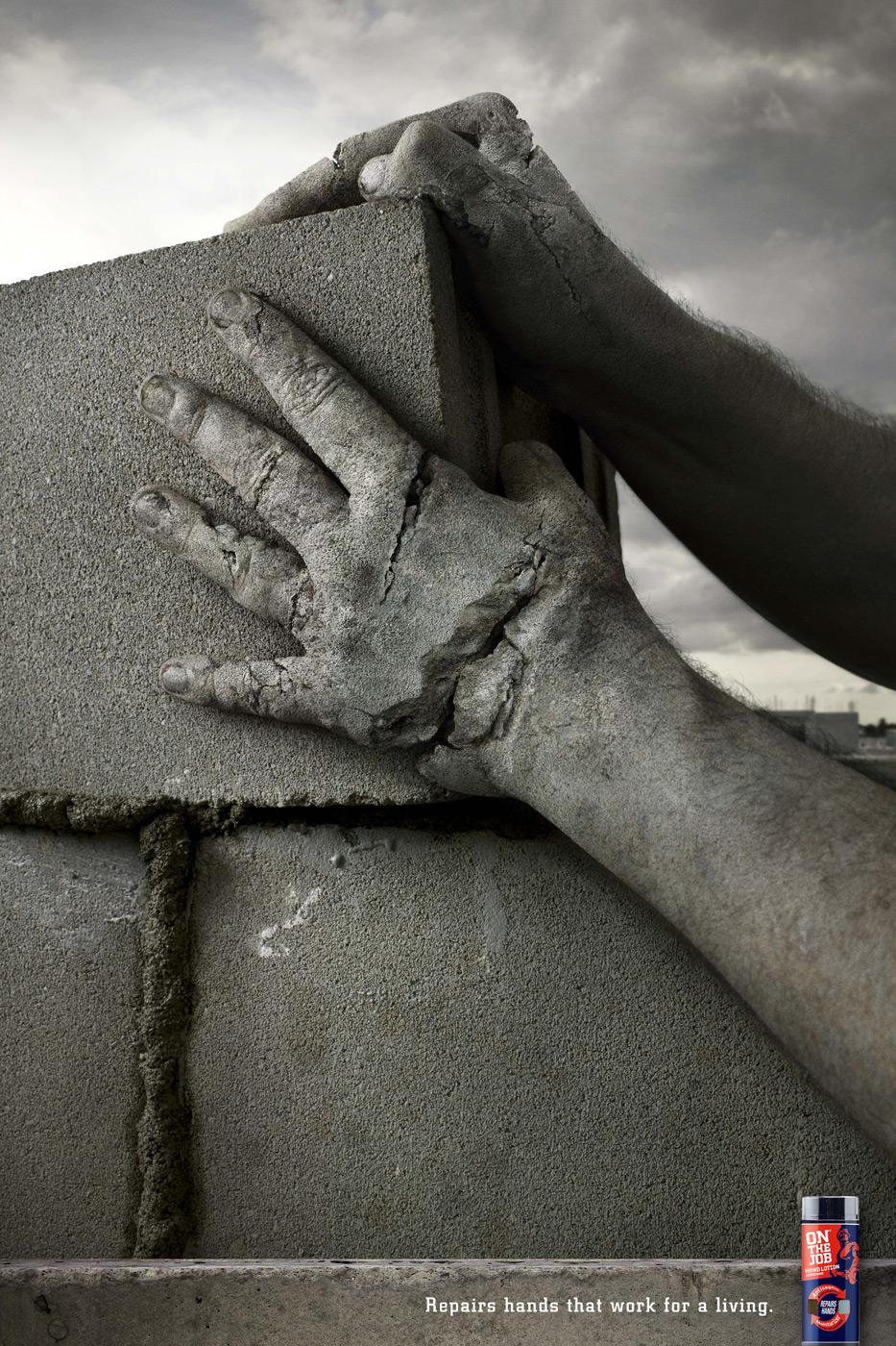 On The Job Print Ad -  Concrete