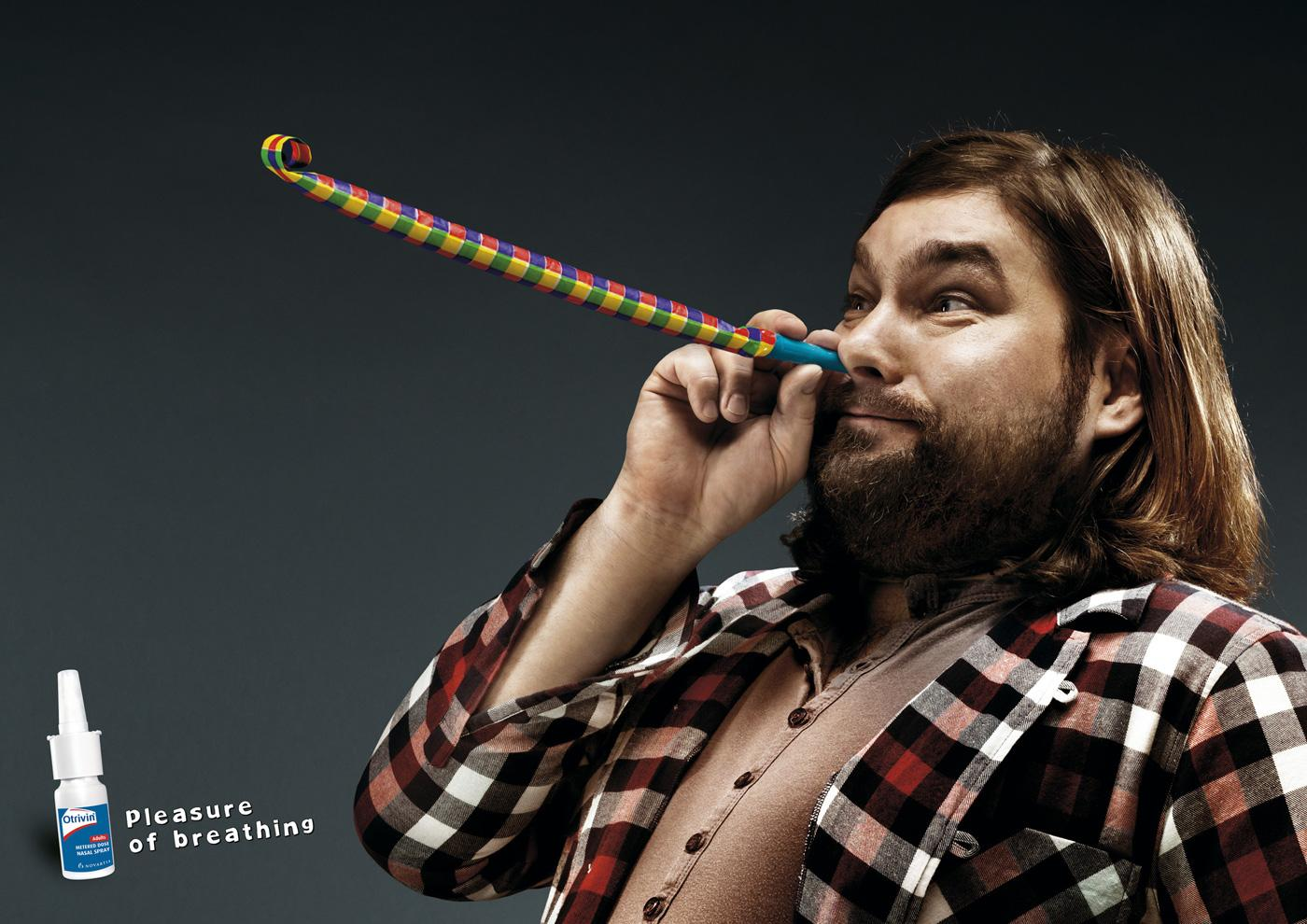 Otrivin Print Ad -  Blow out