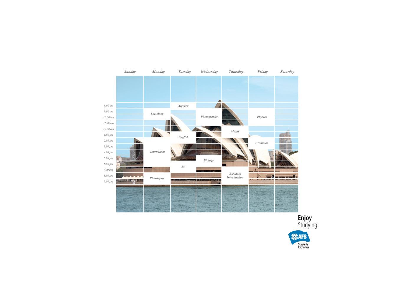 AFS Print Ad -  Australia