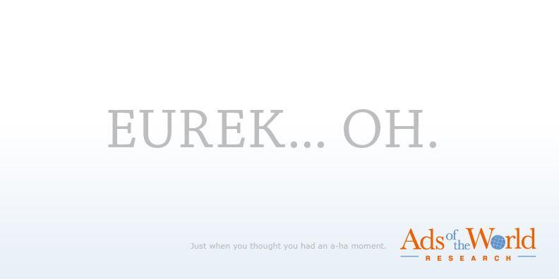 Ads of the World Print Ad -  Eureka