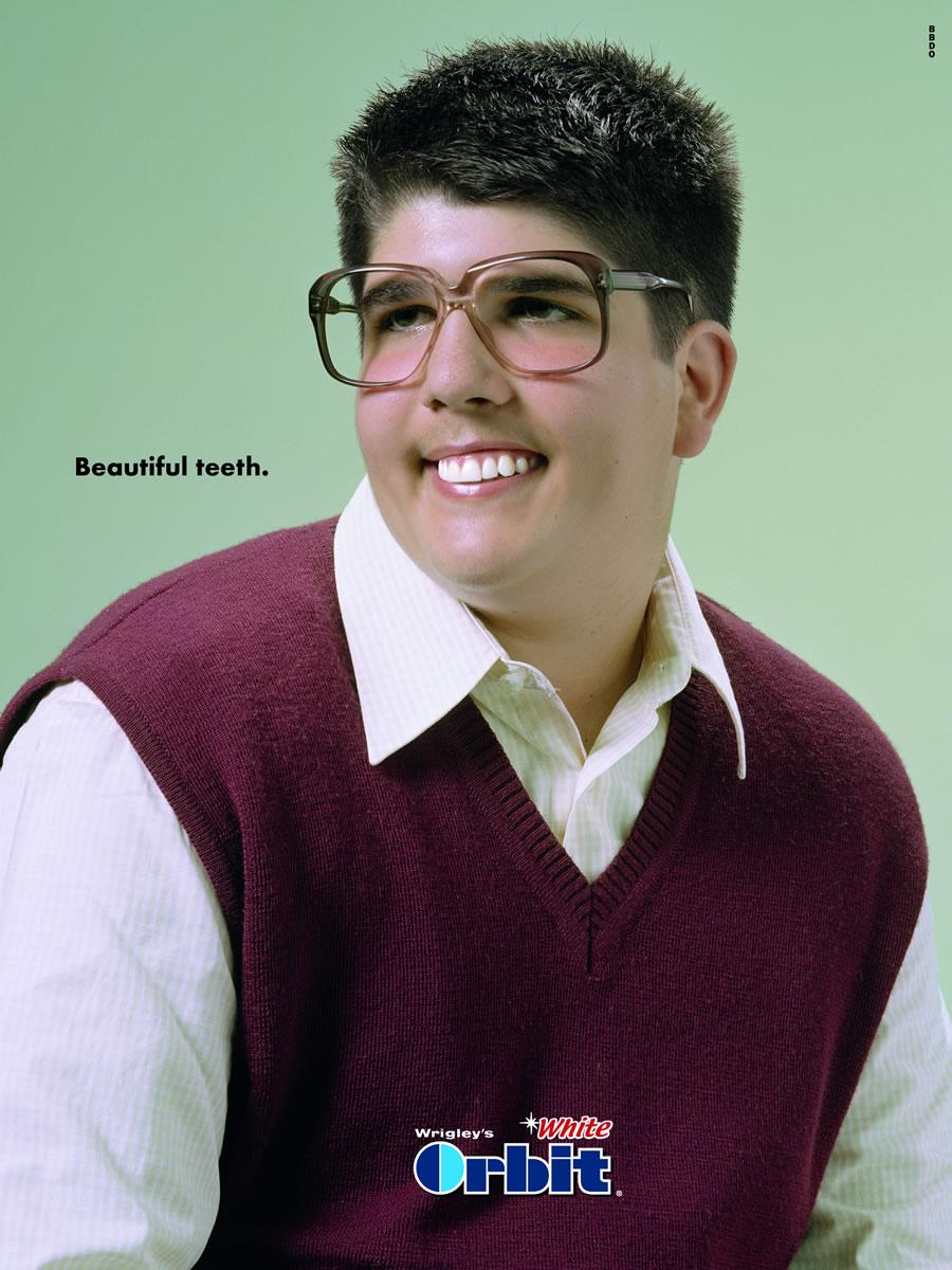 Beautiful teeth, boy