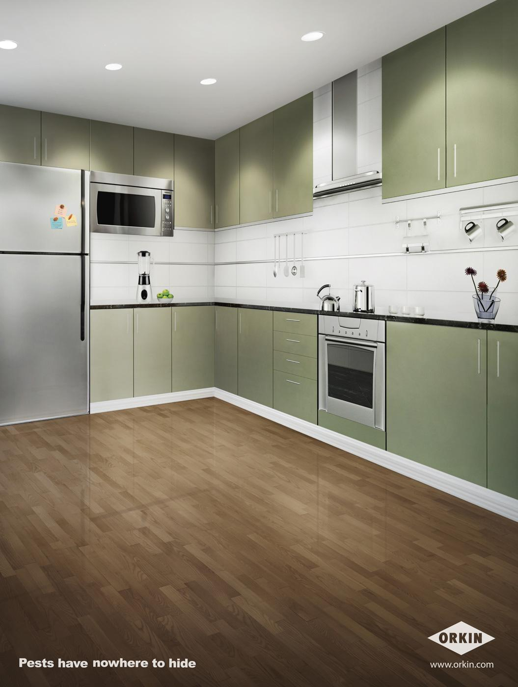 Orkin Print Ad -  Kitchen