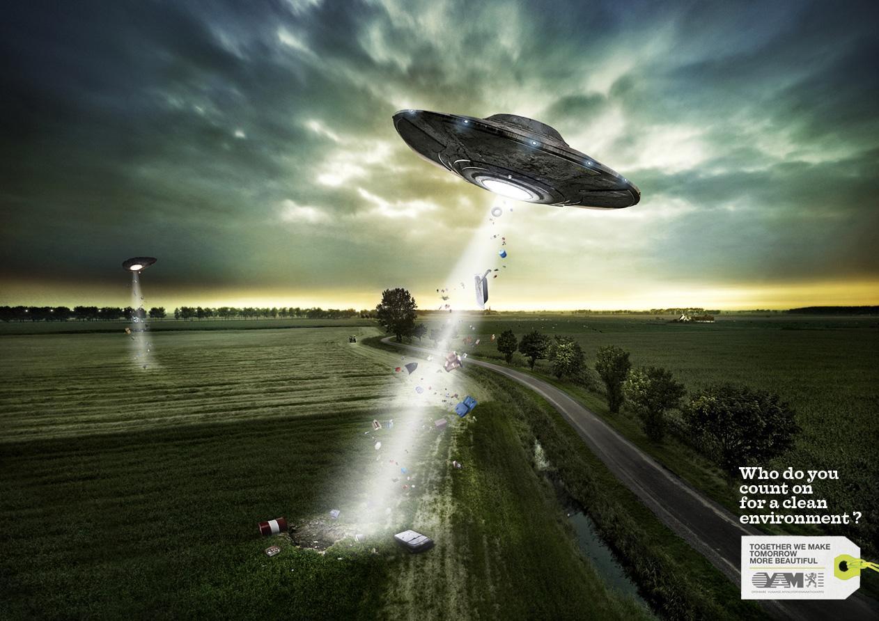 Ovam Print Ad -  UFO