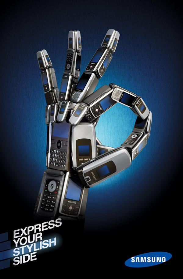Samsung Print Ad -  Express Yourself, Perfect