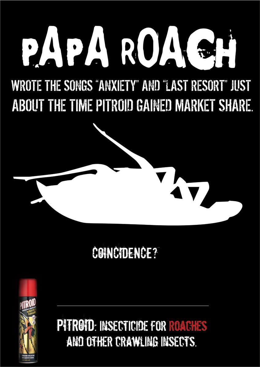 Conspiracy theory, Papa Roach