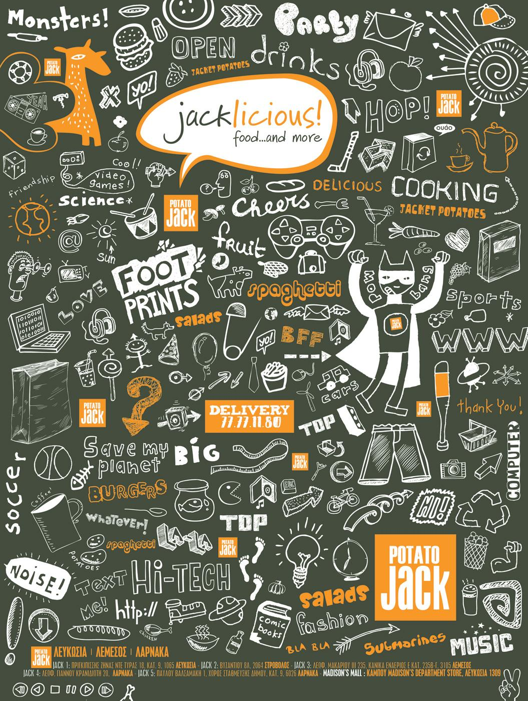 Potato Jack Print Ad -  Launch
