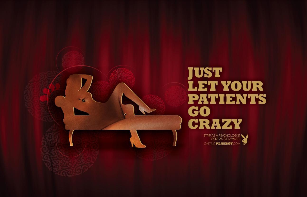 Playboy Print Ad -  Psychologist
