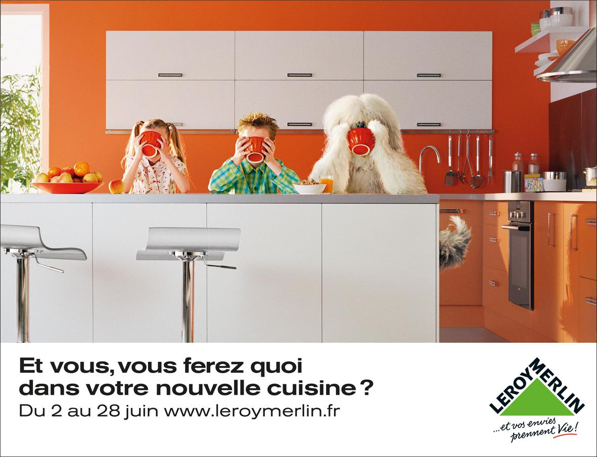 Leroy Merlin Print Ad -  Dog