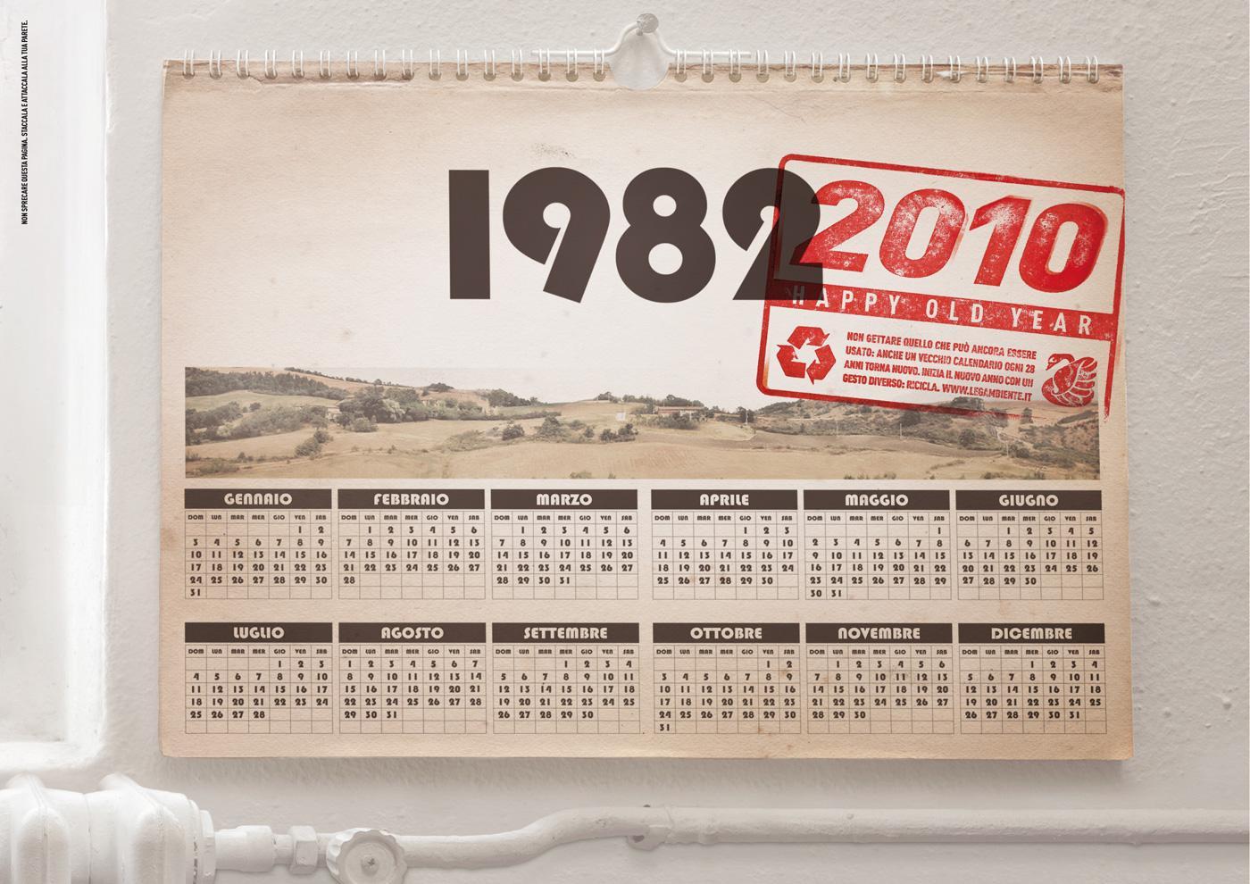 Legambiente Print Ad -  Calendar