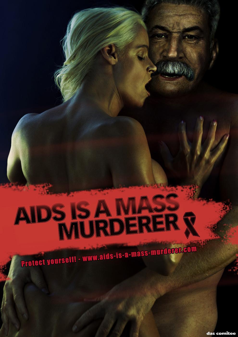 World AIDS Day Print Ad -  Stalin