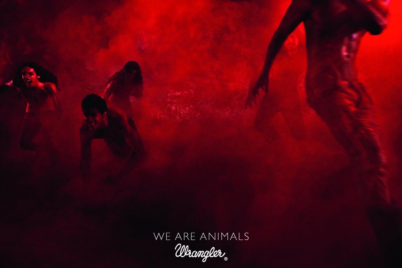 Wrangler Print Ad -  We're animals, 4