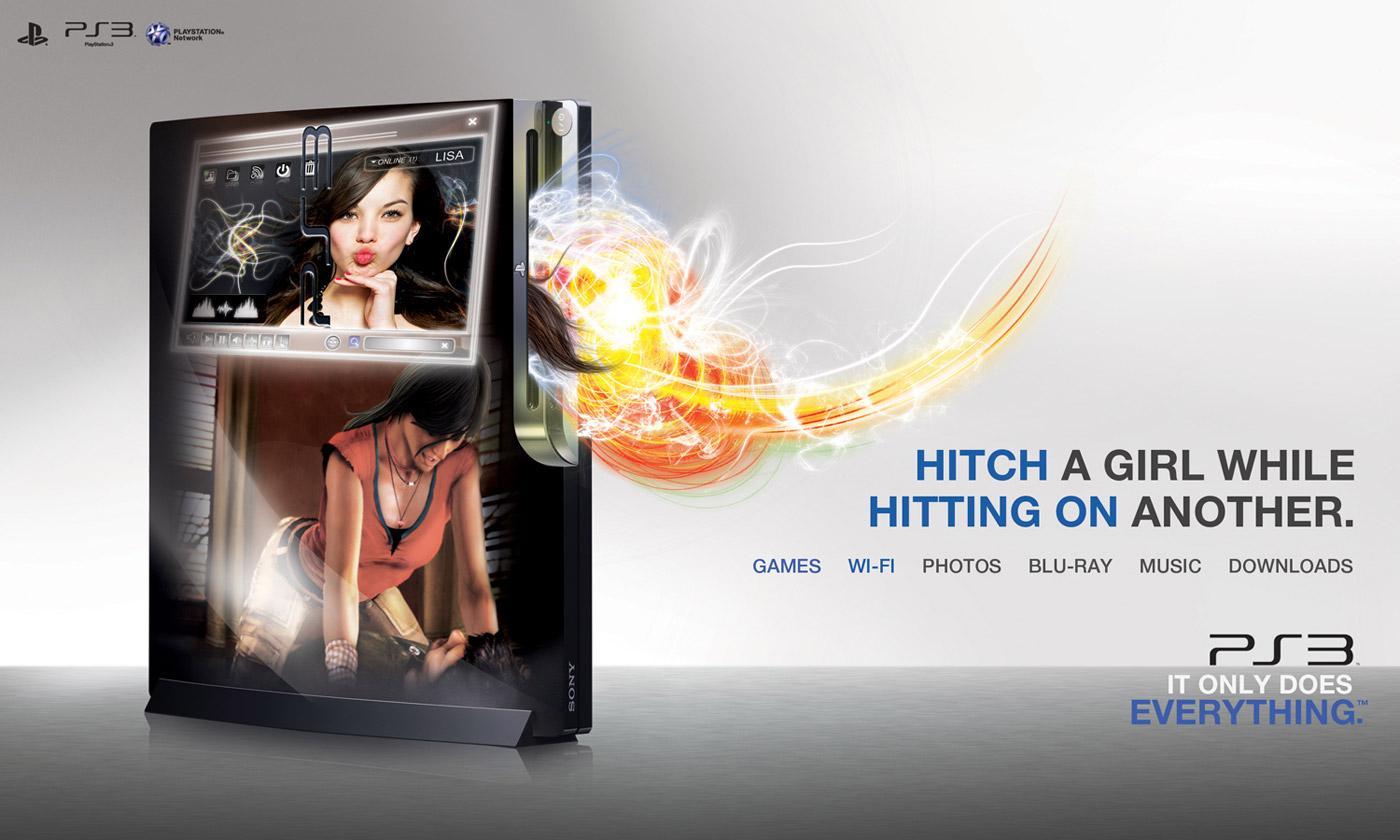 PlayStation Print Ad -  Chat