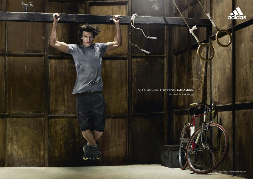 Adidas Print Ad -  Aire cooled training, Pull-ups