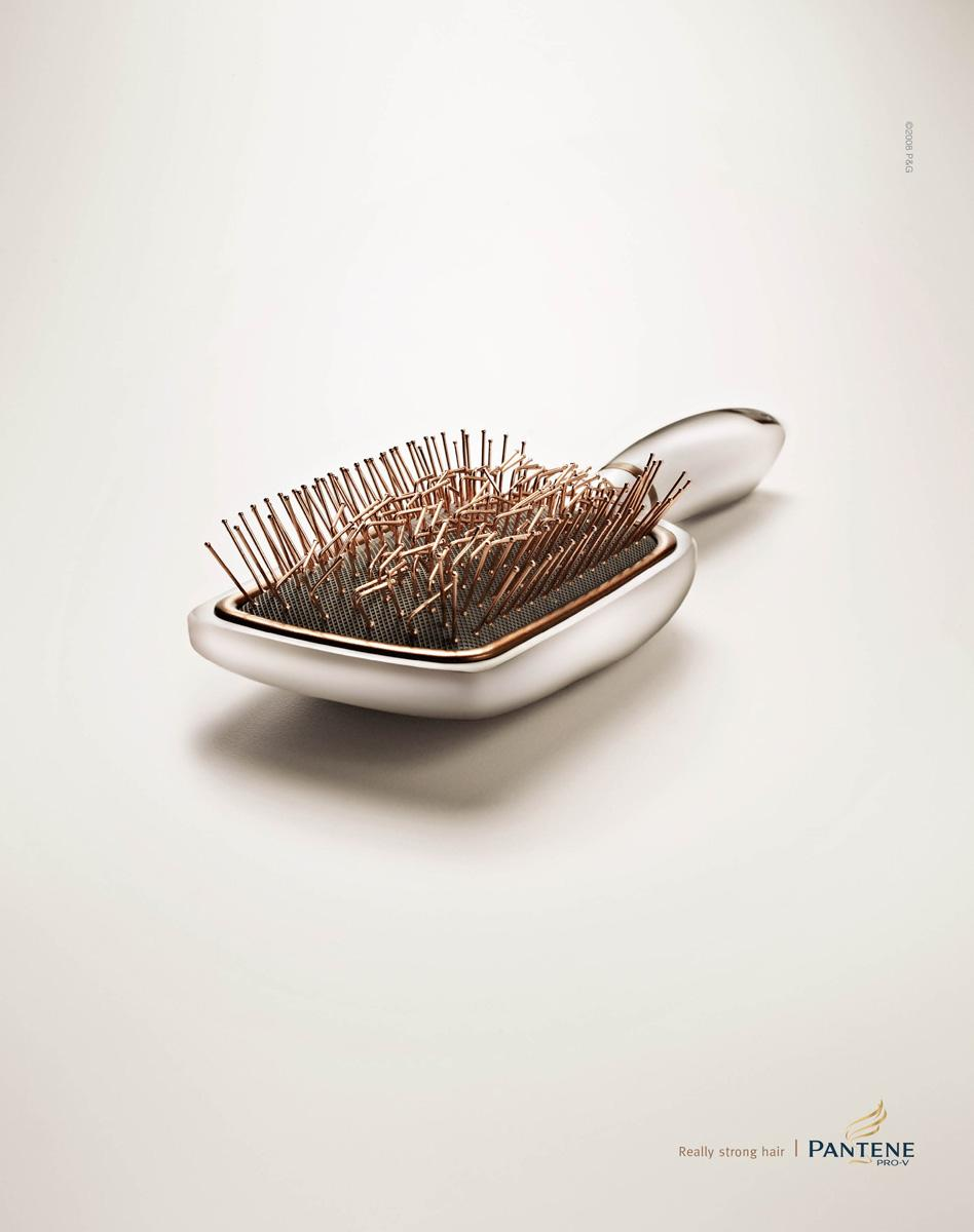 Pantene Print Ad -  Brush