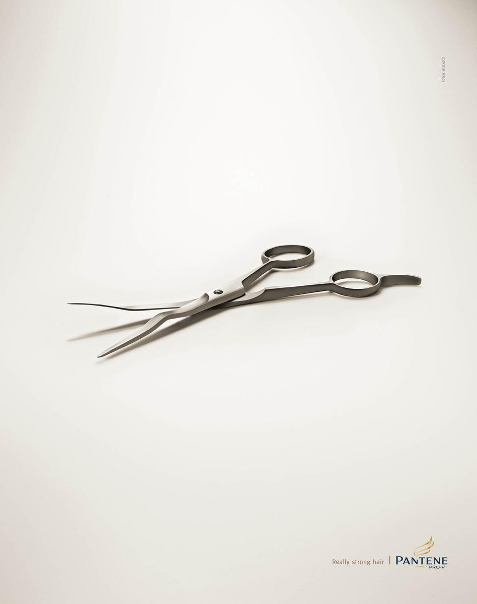 Pantene Print Ad -  Scissors