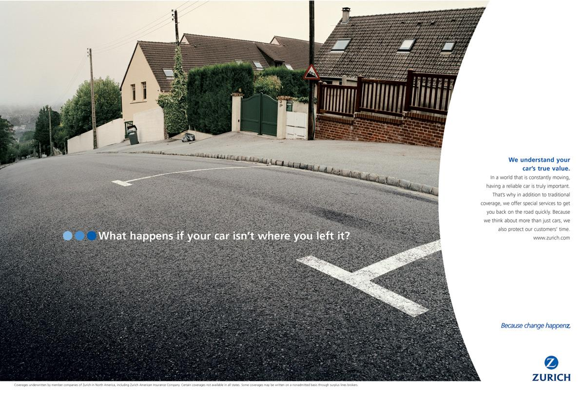 Zurich Print Ad -  Parking