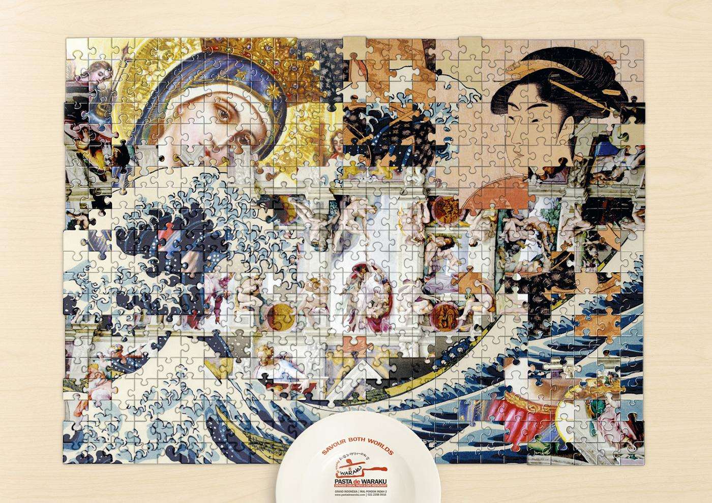 Pasta de Waraku Print Ad -  Art