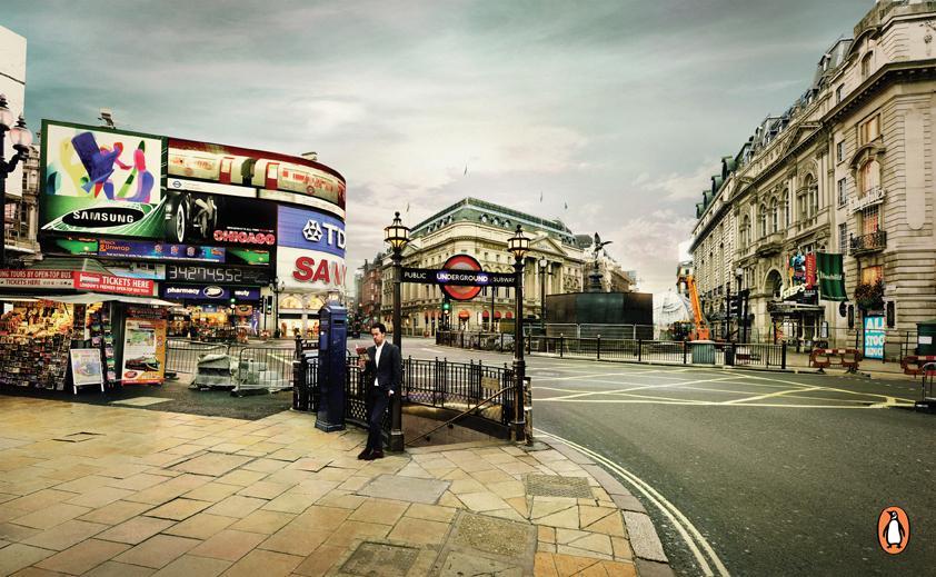Penguin Print Ad -  London