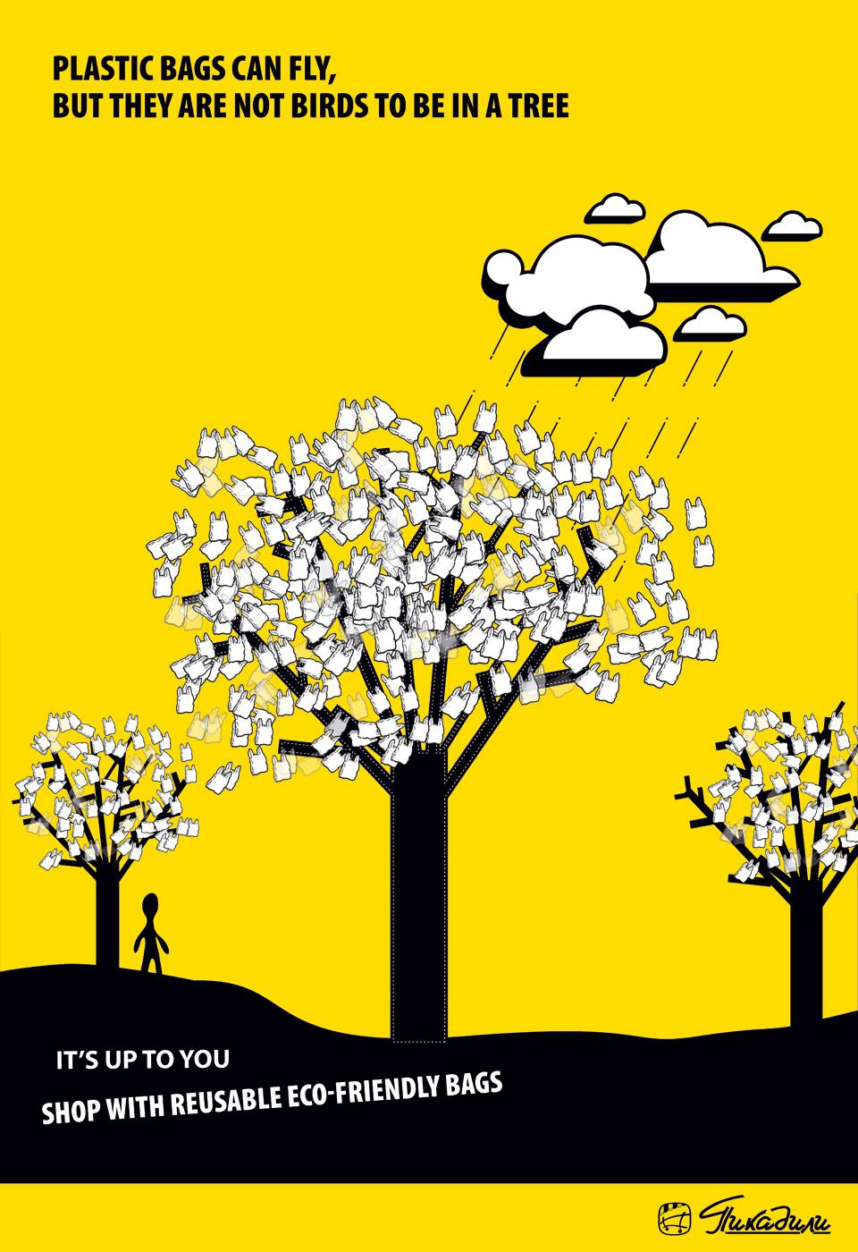 Piccadilly Print Ad -  Tree