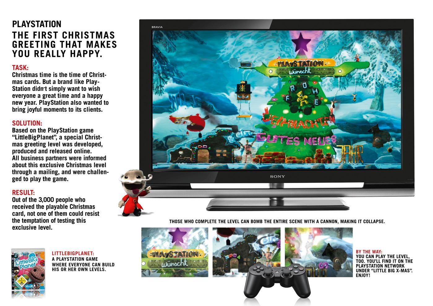 PlayStation Digital Ad -  Little Big Xmas