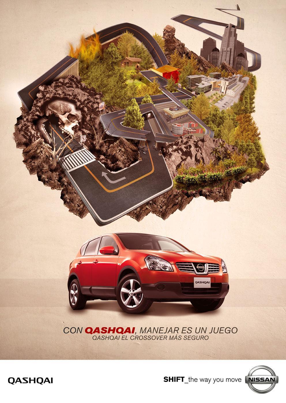 Nissan Print Ad -  Road